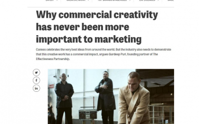 Why commercial creativity has never been more important to marketing