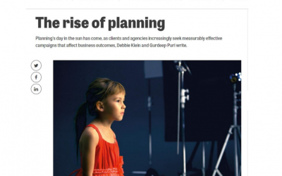 The rise of planning